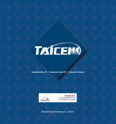 Read more: New Catalog from Taicenn